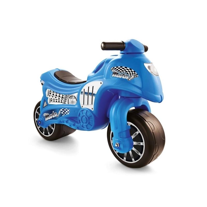 Motocicleta Fara Pedale, Albastru, 50x71x27 Cm - Dolu, 8029