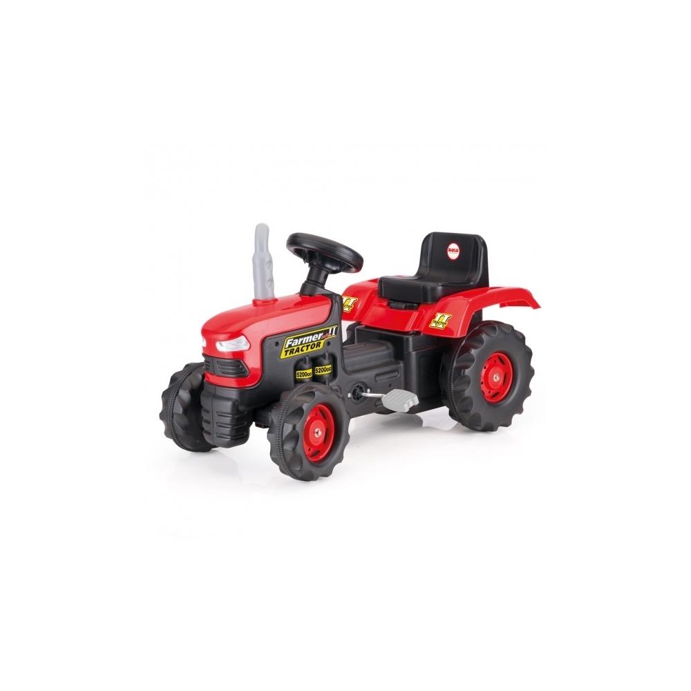 Tractor Cu Pedale, Rosu, 53x83x45 - Dolu, 8050